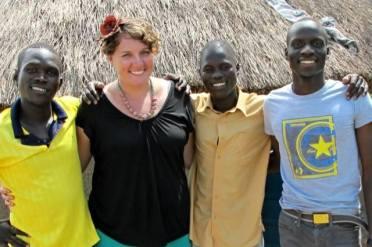 Lanyero and Sons: Otim Geoffrey, Alicia, Oryem William and Opiyo Martin