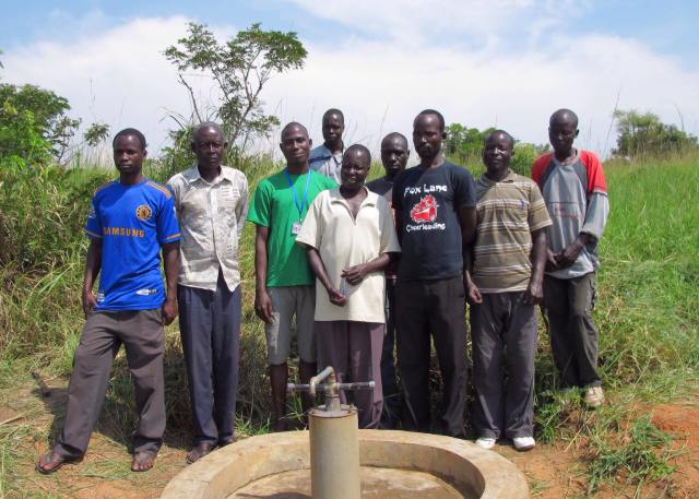 the well in Te Okot