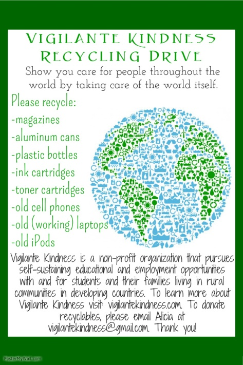 VK Recycling flyer