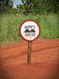 Humps ahead...