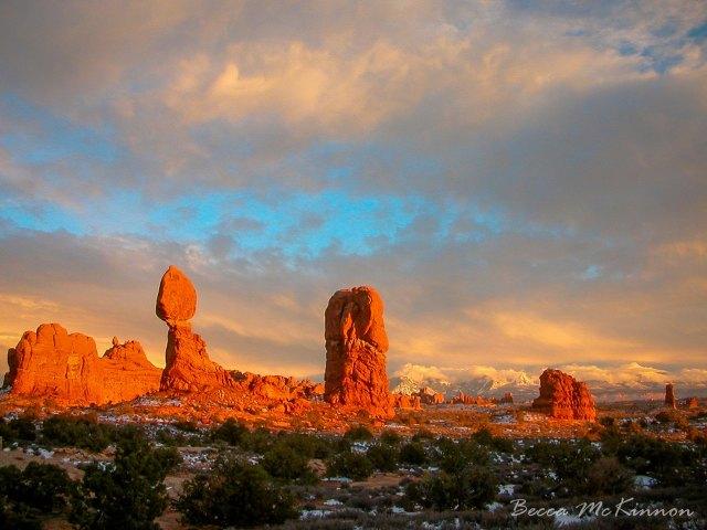 Balanced Rock by Becca McKinnon